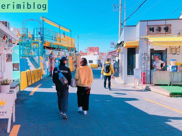甘川文化村を散策